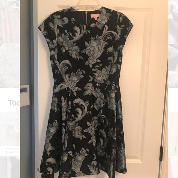 Ted Baker Dresses & Skirts - Black and grey dress
